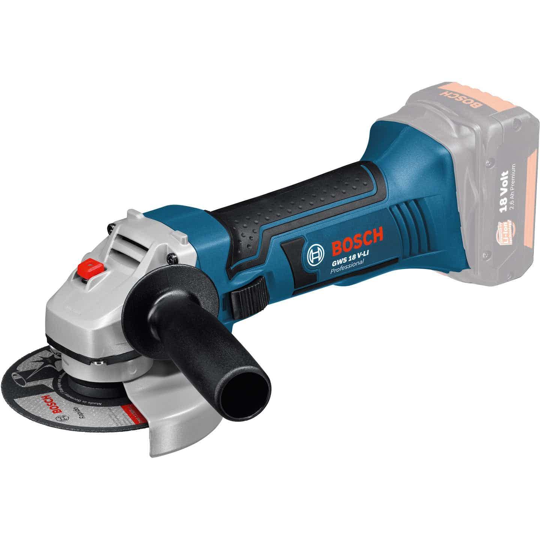 Bosch Professional Akku-Winkelschleifer GWS 18-125 V-LI Solo