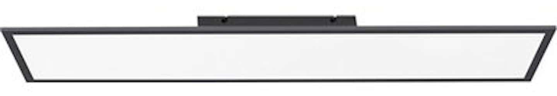 LED-Panel Flat 100 x 25 cm ultraflaches Design 2700 K - 5000 K Schwarz-Weiß