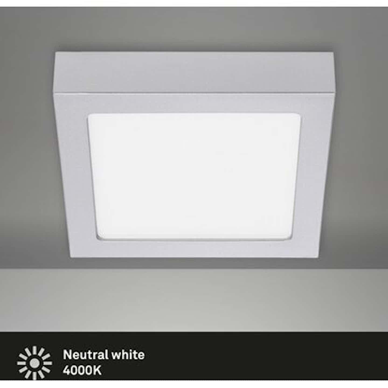 Briloner LED-Decken-& Wandlampe Fire Chrom Matt Neutralweiß EEK: A-A++
