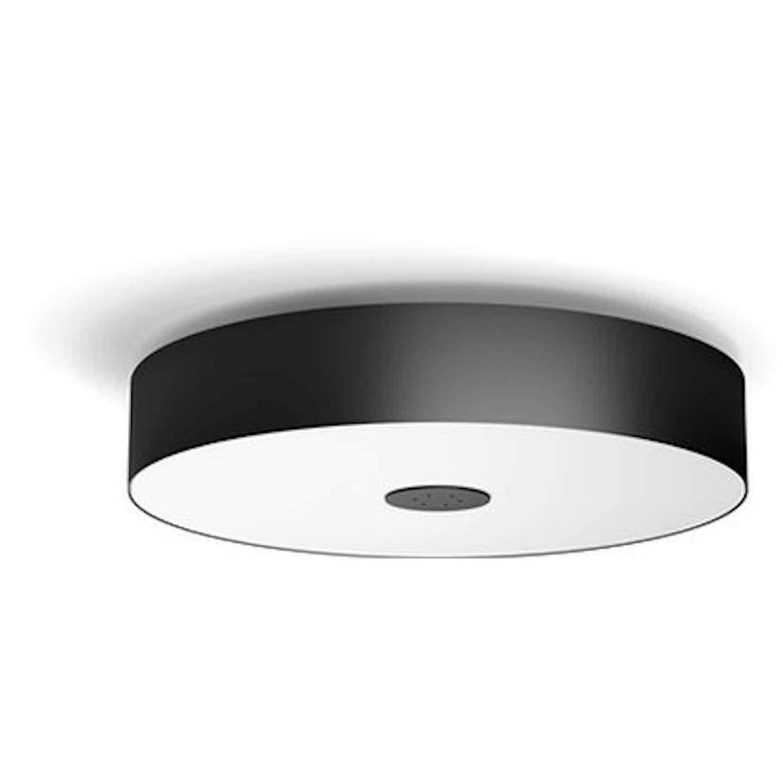 Philips Hue White Ambiance LED-Deckenleuchte Fair Schwarz 300 lm Dimmschalter