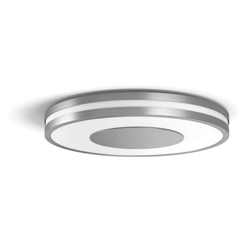 Philips Hue White Ambiance LED-Deckenleuchte Being Aluminium 2400lm Dimmschalter