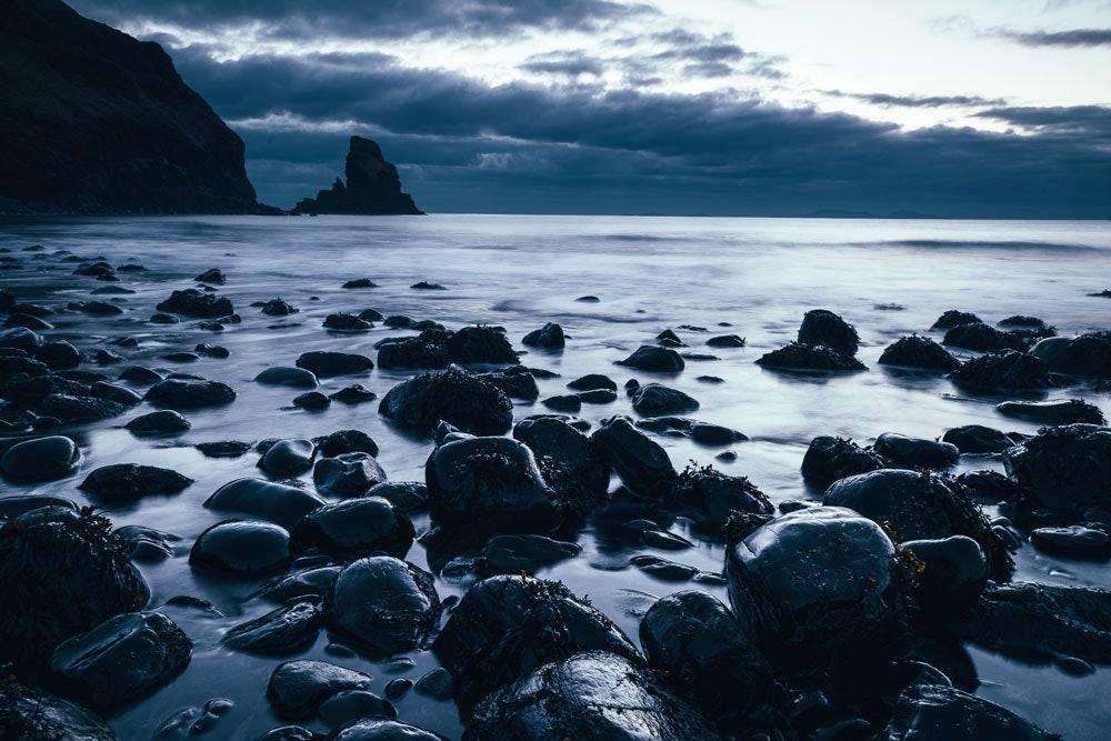 Talisker Bay auf der Isle of Skye