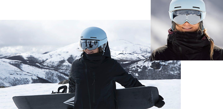Skihelme und Skibrillen von Smith: Style und Sicherheit vereint