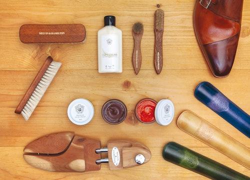 Produkty do pielęgnacji skórzanych butów Melvin & Hamilton