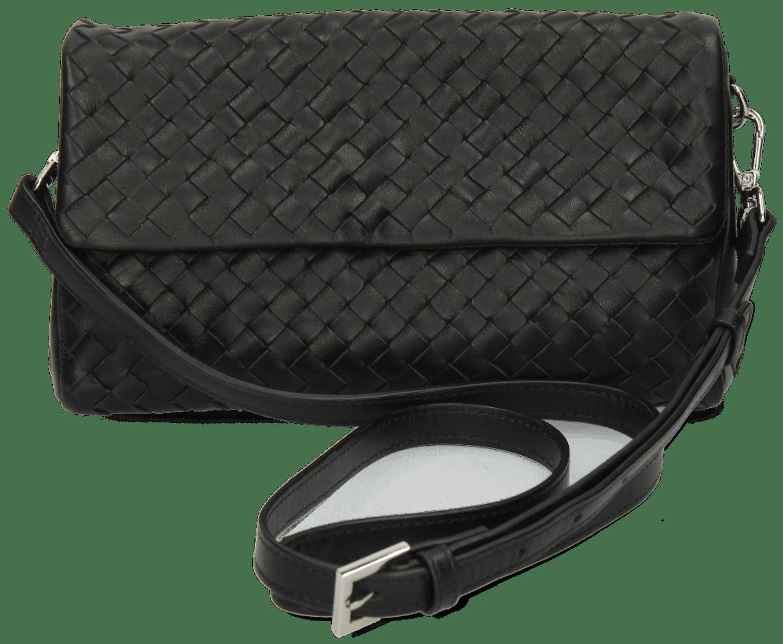Kimberly 5 Woven Nappa Black