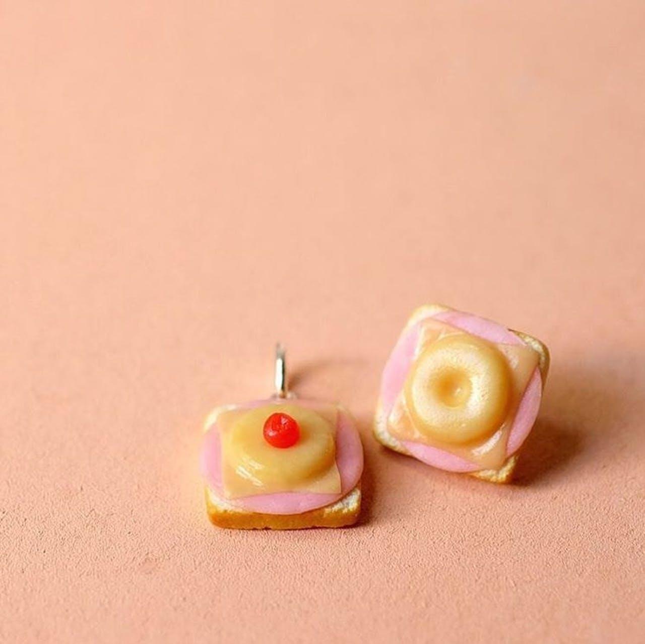 Miniaturen von Kamilla Kleinschmidt (Minischmidtblog) - Toast Hawaii