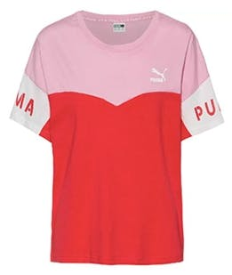 Puma Crop Top Hibiscus