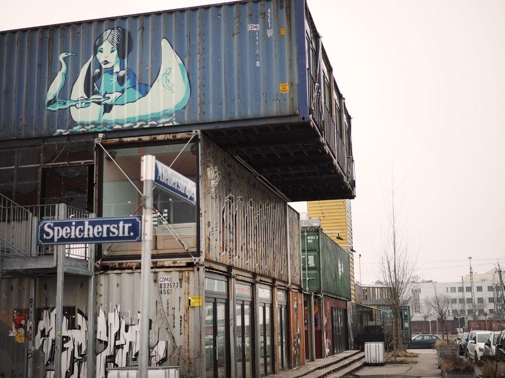 Container-Collective-Außenansicht