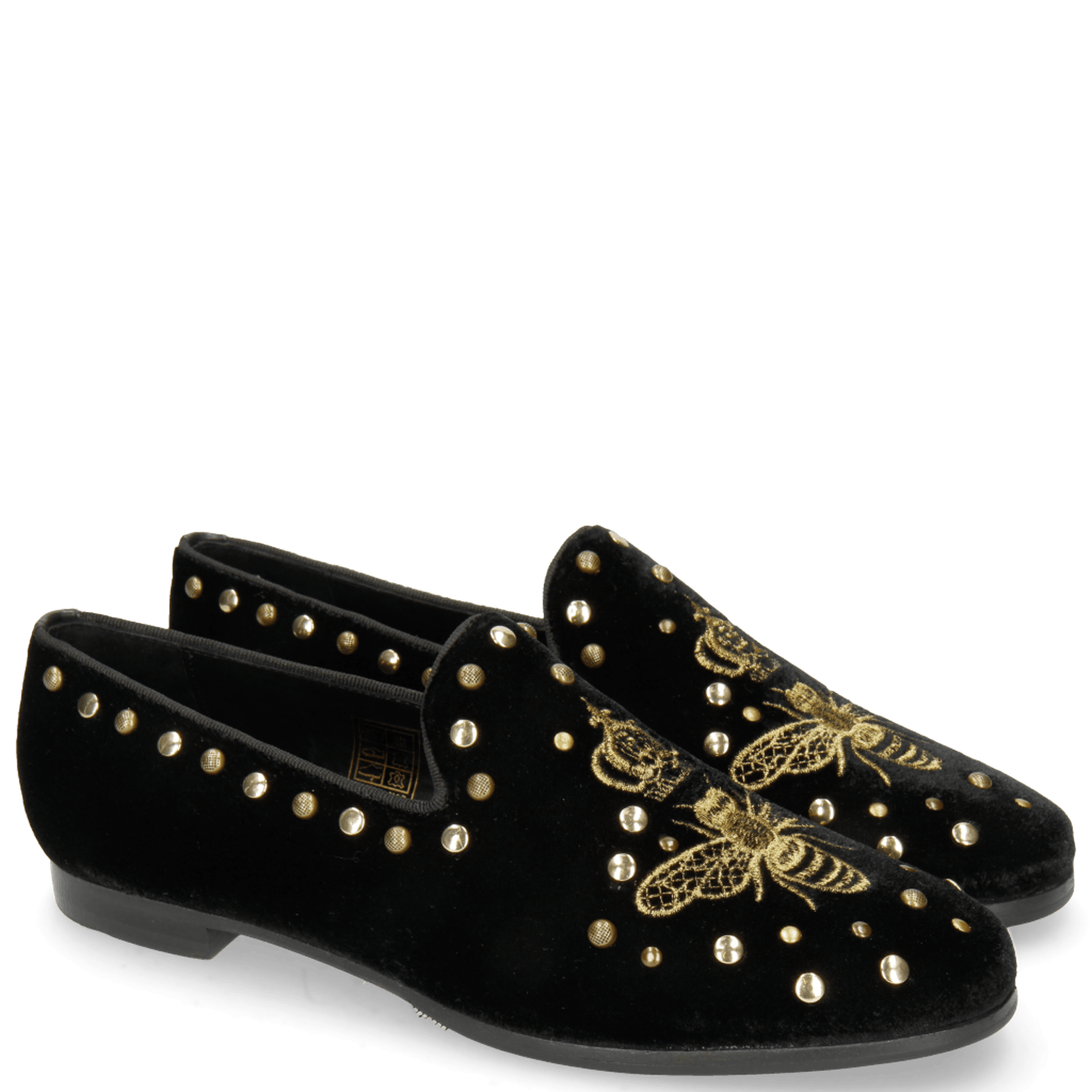 Scarlett 38 Velluto Black Embroidery