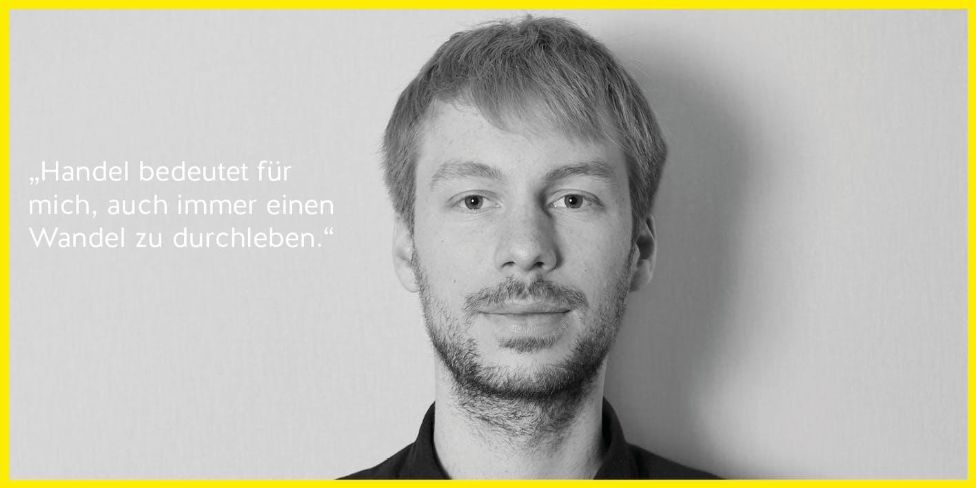 THOMAS GIBITZ – Kustermann – stv. Teamleiter Hobby/Handwerk und Ausbildungsleitung – 27 / aktuelles Talente-Programm 2019