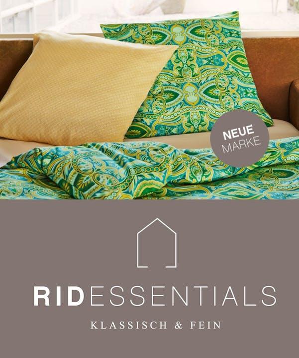 Unsere neue Eigenamrke: Rid Essentials