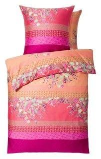"""Bettwäsche-Garnitur """"Amarilla"""" in der Farbe Rosa/Fuchsia"""