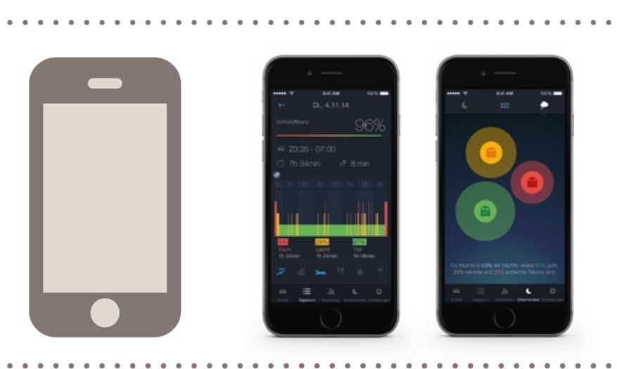 iPhone-Apps zum Thema Schlaf