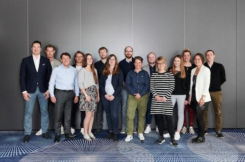 Die Teilnehmer des aktuellen Talente-Programms 2019