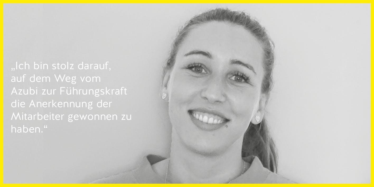 LISA SCHLAGENHAUF – Hirmer – Abteilungsleitung Verkauf – 28 / Talente-Programm 2017