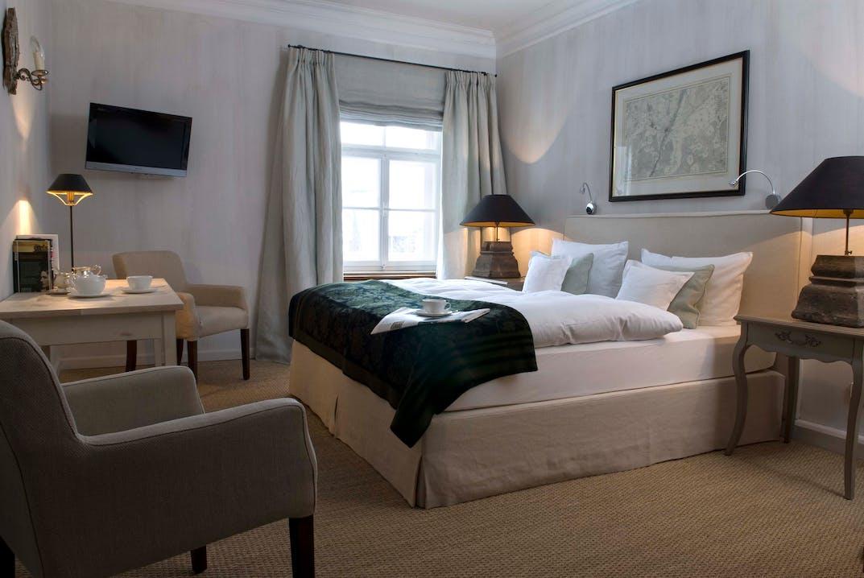 """Im """"Hotel Brauereigasthof Aying"""" haben Sie die Möglichkeit auf einer Schramm-Matratze Probe zu schlafen."""