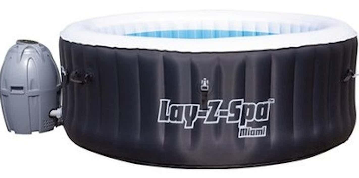 Bestway Lay-Z-Spa Whirlpool Miami für 4 Personen Ø 180 cm x 65 cm