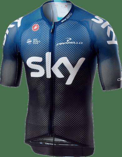 Castelli Team Sky 2019 Climber's 3.0 - maglia bici - uomo