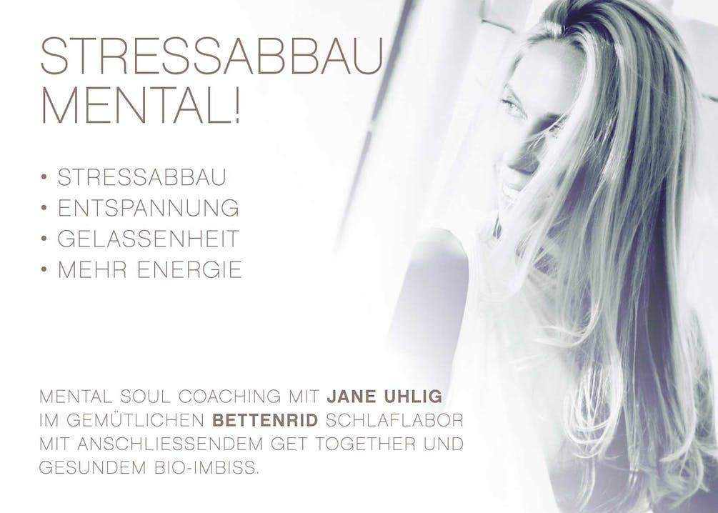 Jane Uhlig hilft Ihnen beim Stressabbau und sorgt für Entspannung, Gelassenheit und mehr Energie.