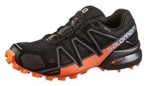 Salomon Speedcross 4 GTX Damen black orange