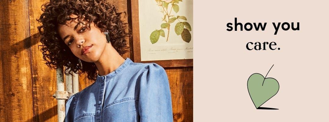 modely džínsov v udržateľnej kolekcii