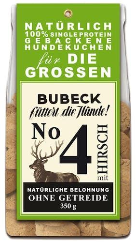 Bubeck Hundekuchen No. 4 mit Hirsch Snack 210 g
