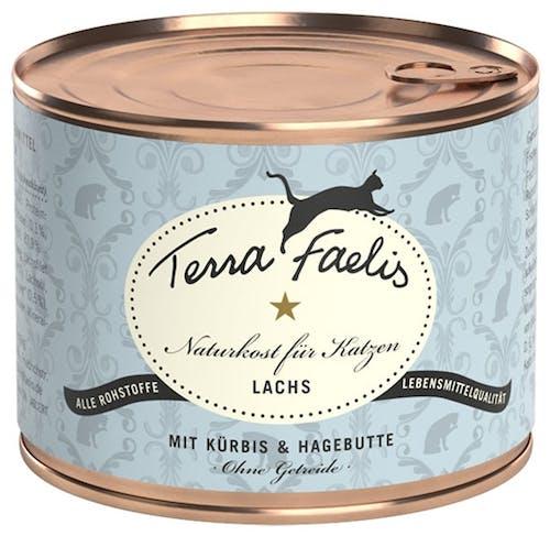 Terra Faelis Classic Lachs mit Kürbis und Hagebutte Nassfutter 200 g