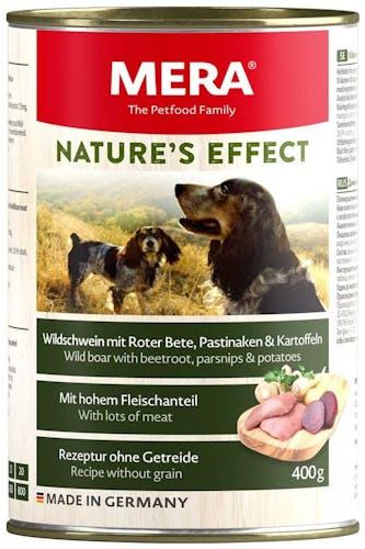 Mera Nature's Effect Wildschwein mit Rote Bete, Pastinaken und Kartoffeln Nassfutter 6 x 200 g