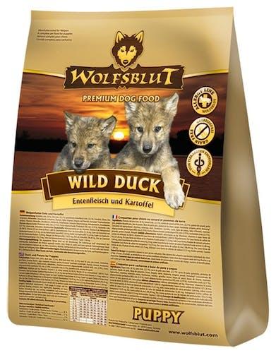 Wolfsblut Puppy Wild Duck Trockenfutter 15 kg
