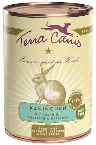 Terra Canis Classic Kaninchen mit Zucchini, Amaranth & Bärlauch Nassfutter 400 g