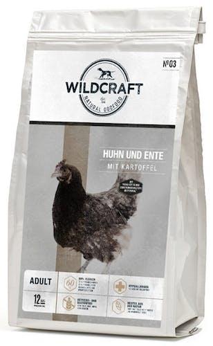 Wildcraft Gebacken Huhn und Ente mit Kartoffel Trockenfutter 1 kg