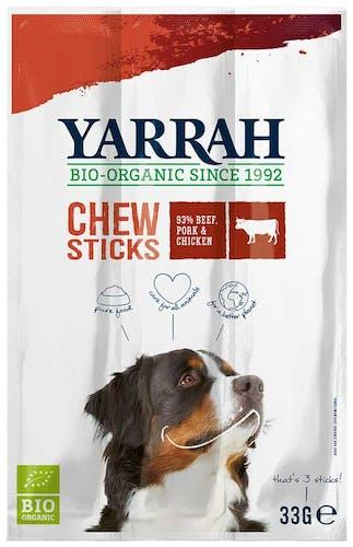 Yarrah Kausticks Rind, Schwein & Huhn Snack 165 g