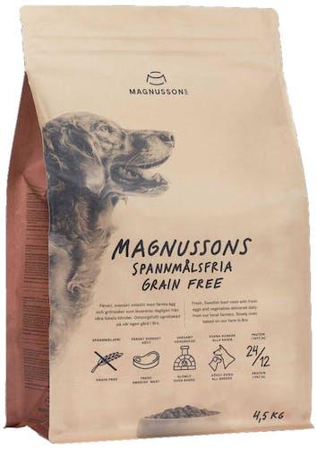 Magnusson Grainfree Trockenfutter 4,5 kg