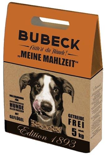 Bubeck Gründer-Edition Meine Mahlzeit mit Geflügel Trockenfutter 12 kg
