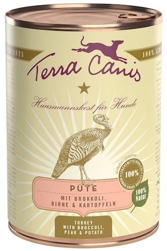 Terra Canis Classic Pute mit Brokkoli, Birne und Kartoffel Nassfutter 400 g