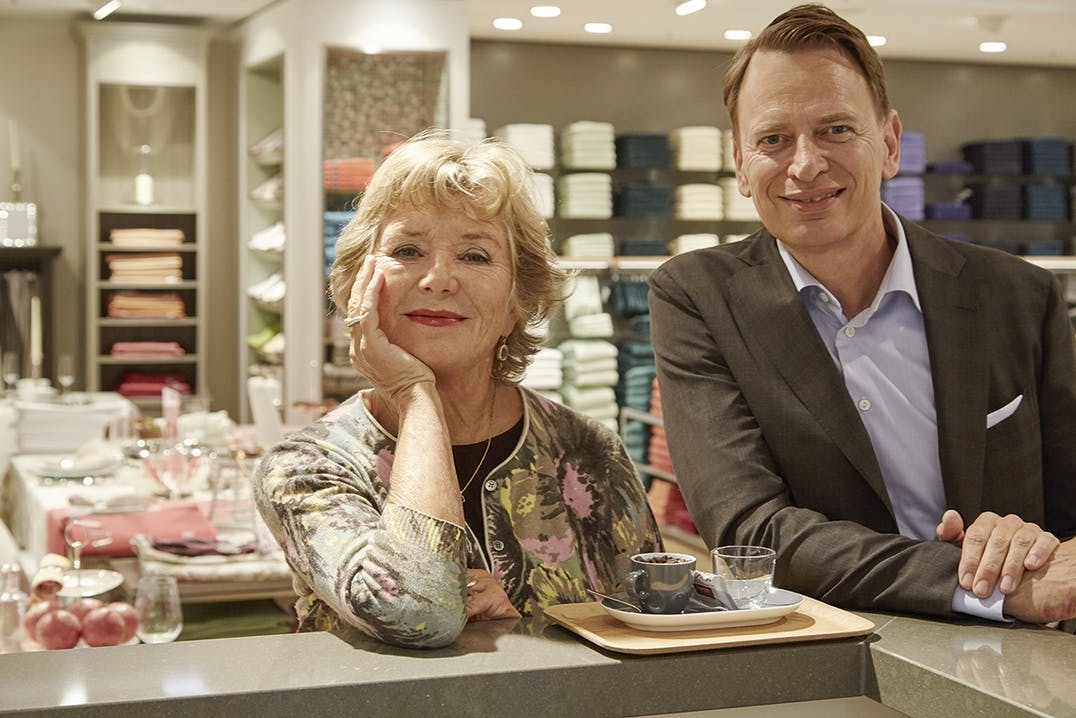 Jutta Speidel und Robert Waloßek