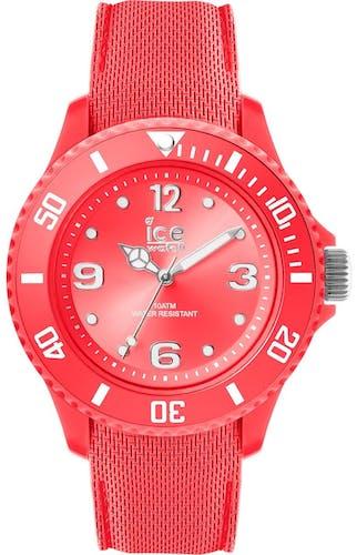 En savoir + Cette montre ICE-WATCH se compose d'un boîtier Rond de 38 mm et d'un bracelet en Silicone Rouge