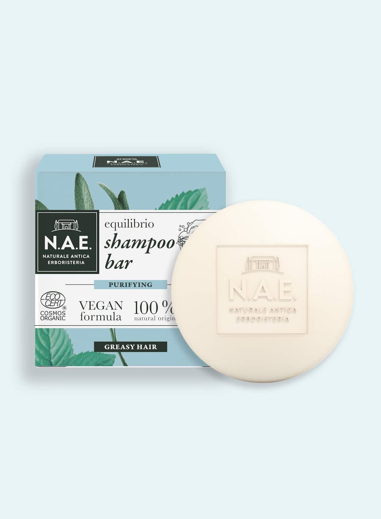 Equilibrio čistící tuhý šampon