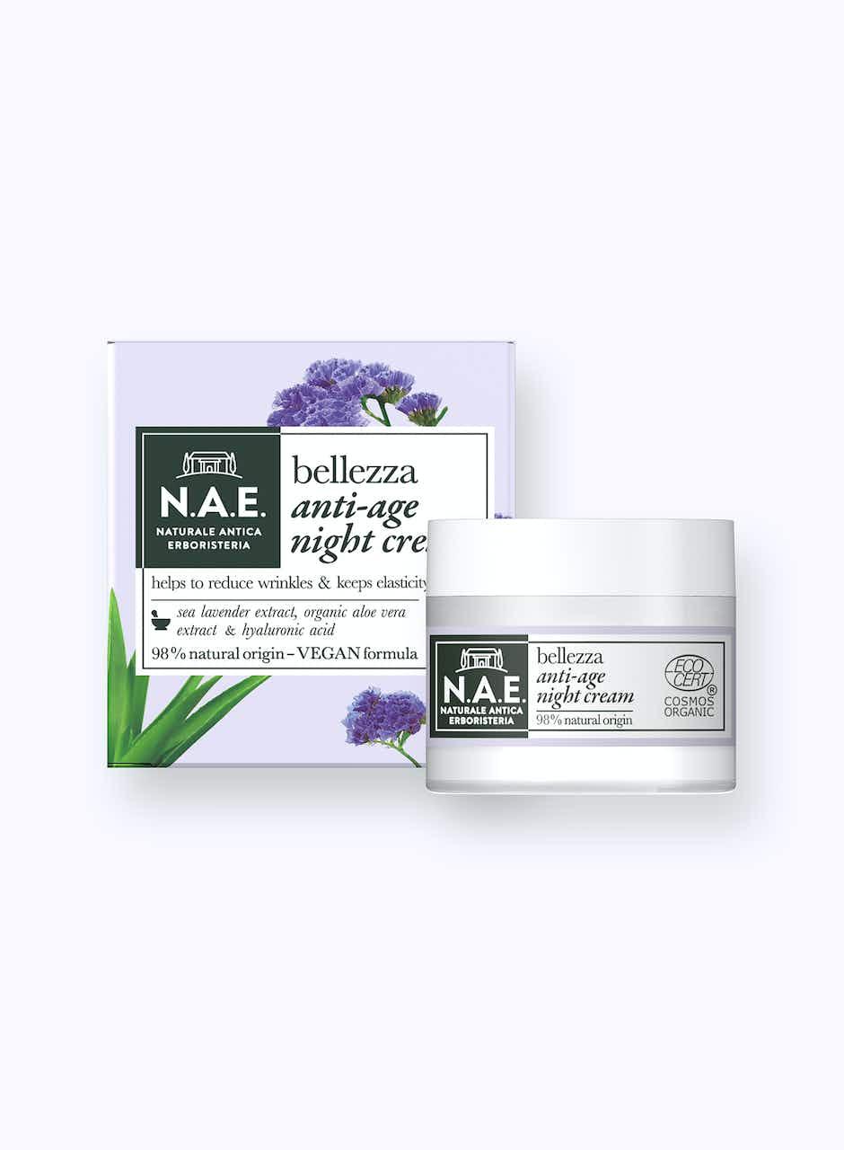 Bellezza nočný krém proti vráskam