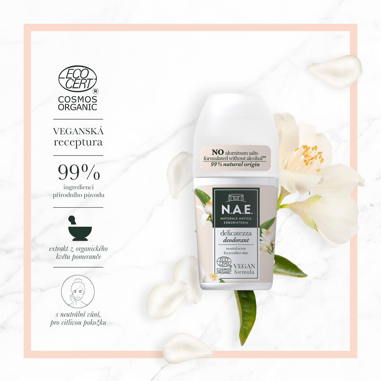 Delicatezza deodorant s neutrální vůní