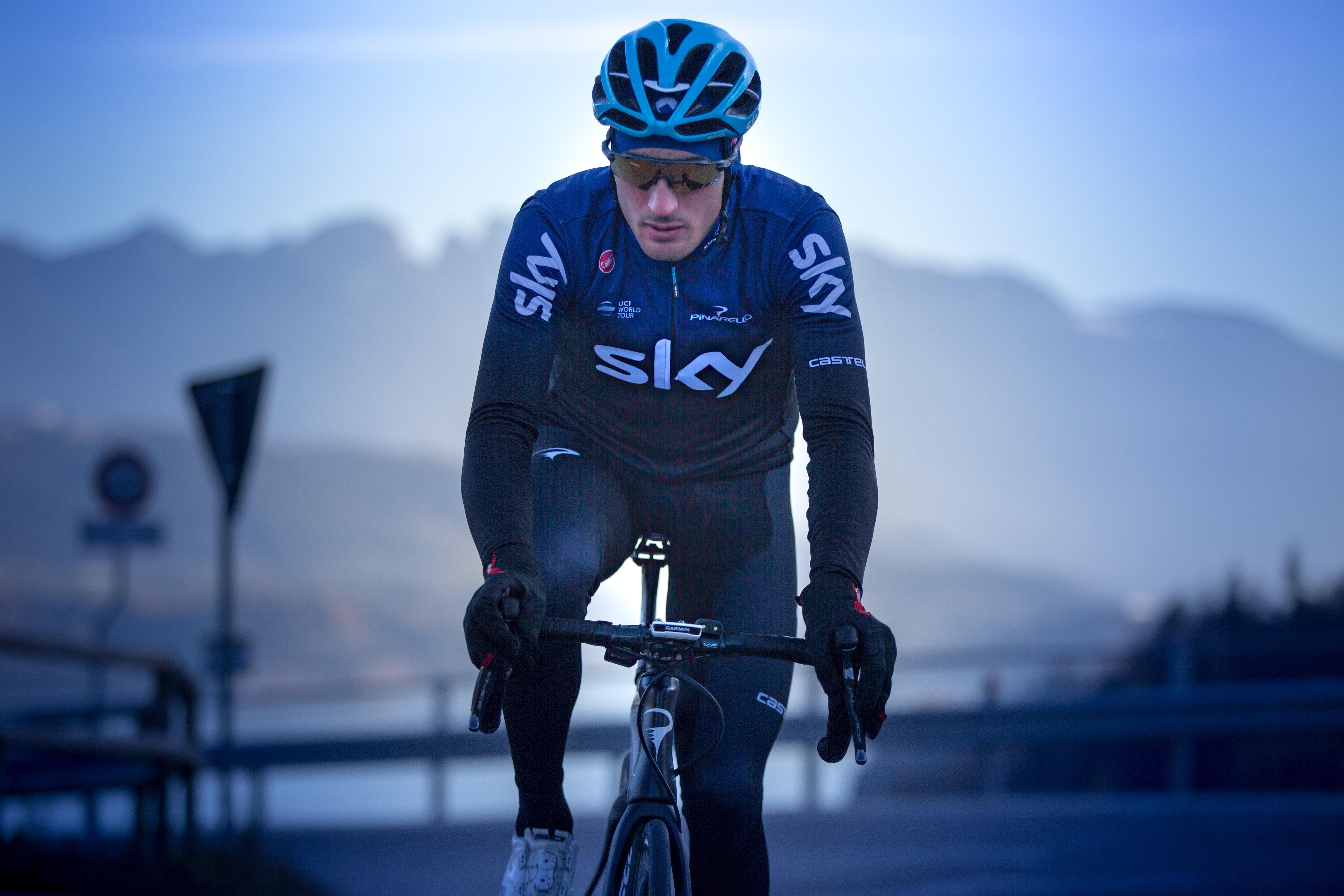 Gianni Moscon Team Sky Castelli