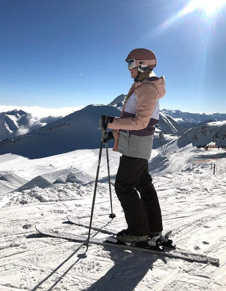 Das erste Mal Skifahren – Selbstversuch beim Gletscher Testival