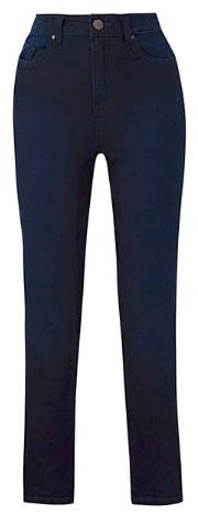 Petite High Waist Lexi Indigo Slim Leg Jeans