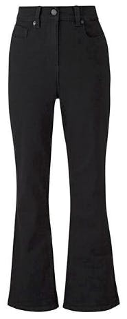 24/7 Black Bootcut Jeans Long Length
