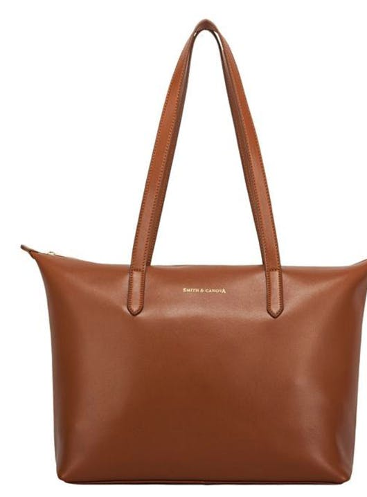 Smith & Canova Smooth Leather Bag