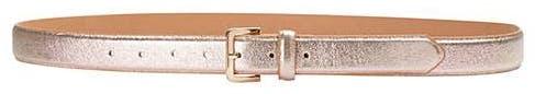 Rose Gold Shimmer Jeans Belt