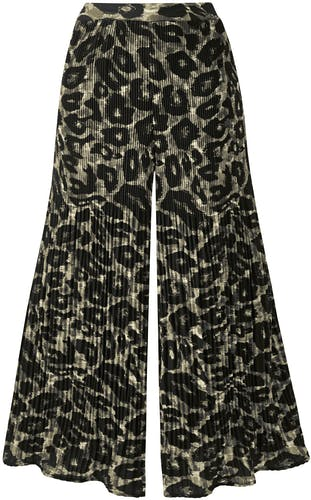 Printed Pleat Culottes