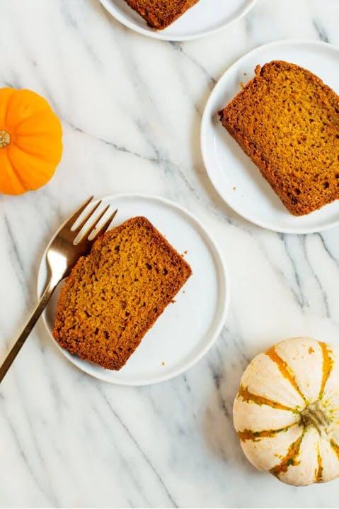 Healthy pumpkin loaf