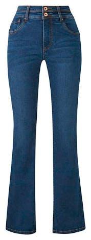 Mid Blue Premium Shape & Sculpt Bootcut Jeans