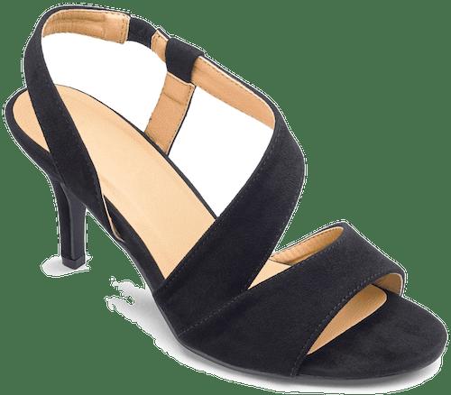 Asymmetric Slingback Sandals Wide E Fit